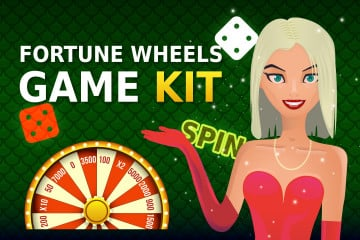 Fortune Wheels Game Kit