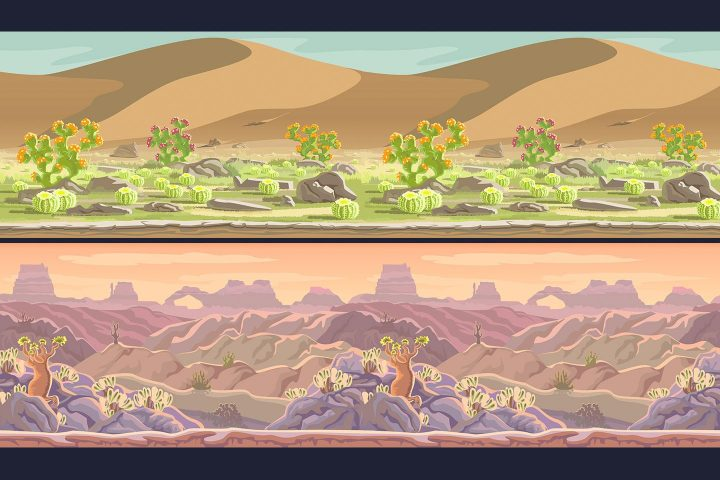 Free-Desert-Scrolling-2D-Game-Backgrounds