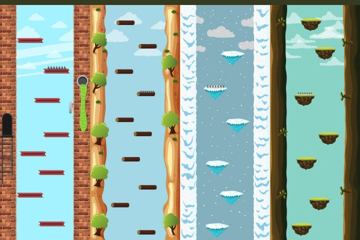 Jumping-2D-Game-Backgrounds