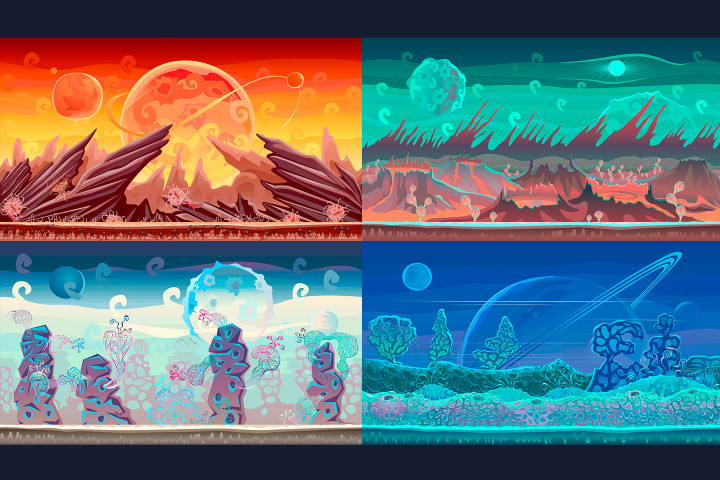 2D-Planet-Game-Backgrounds