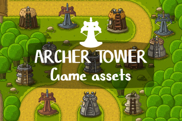 Archer Tower Game Assets