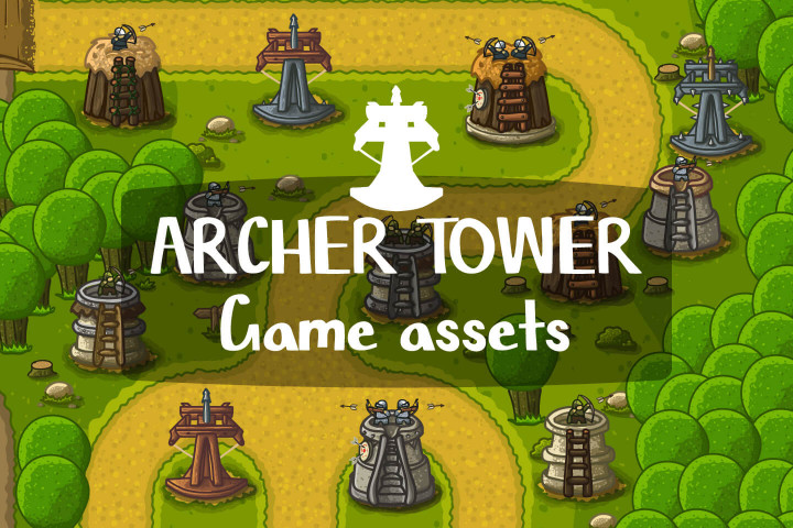 Archer-Tower-Game-Assets