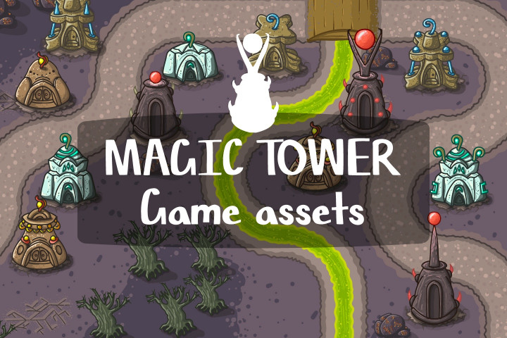 Magic-Tower-Game-Assets