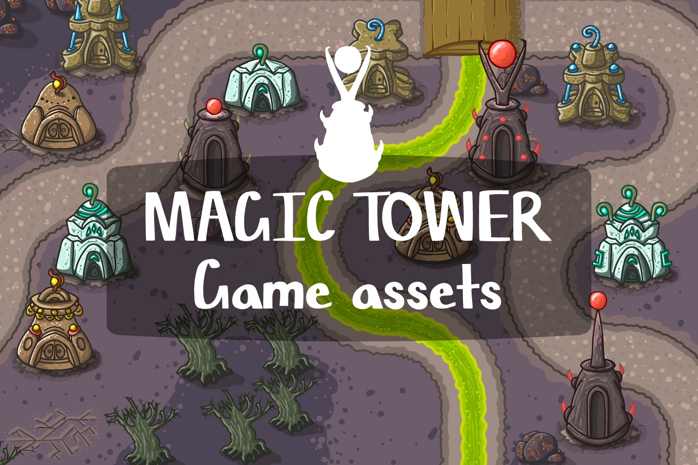 Magic Tower Game Assets