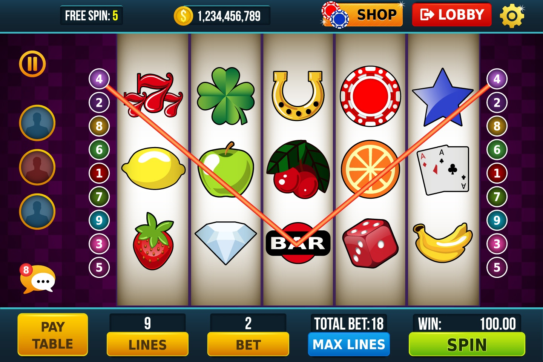 Slot Machine Game Kit - CraftPix.net