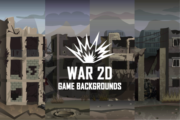 War-2D-Game-Backgrounds
