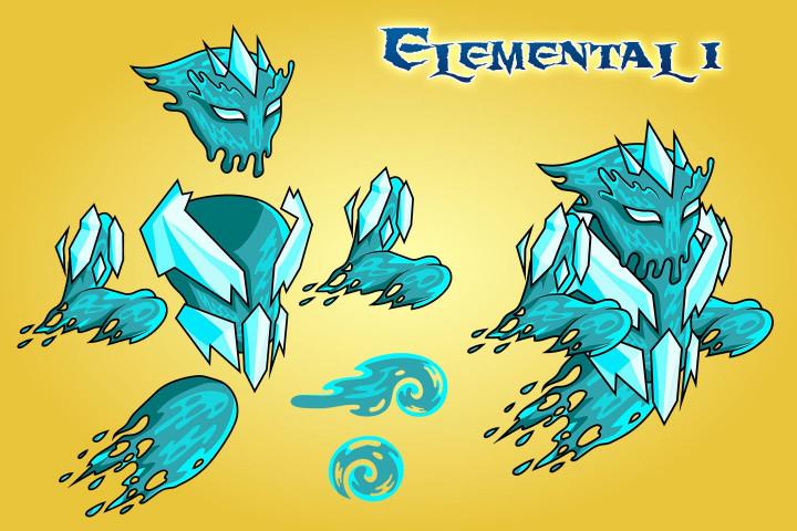 2D-Fantasy-Elemental-Character-Sprites
