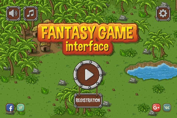 Fantasy-Game-Interface