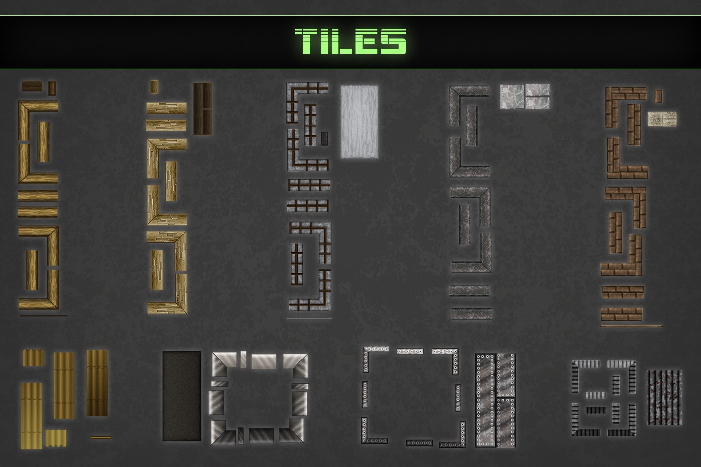 Free Zombie Tds Tilesets Buildings And Furniture Craftpix Net
