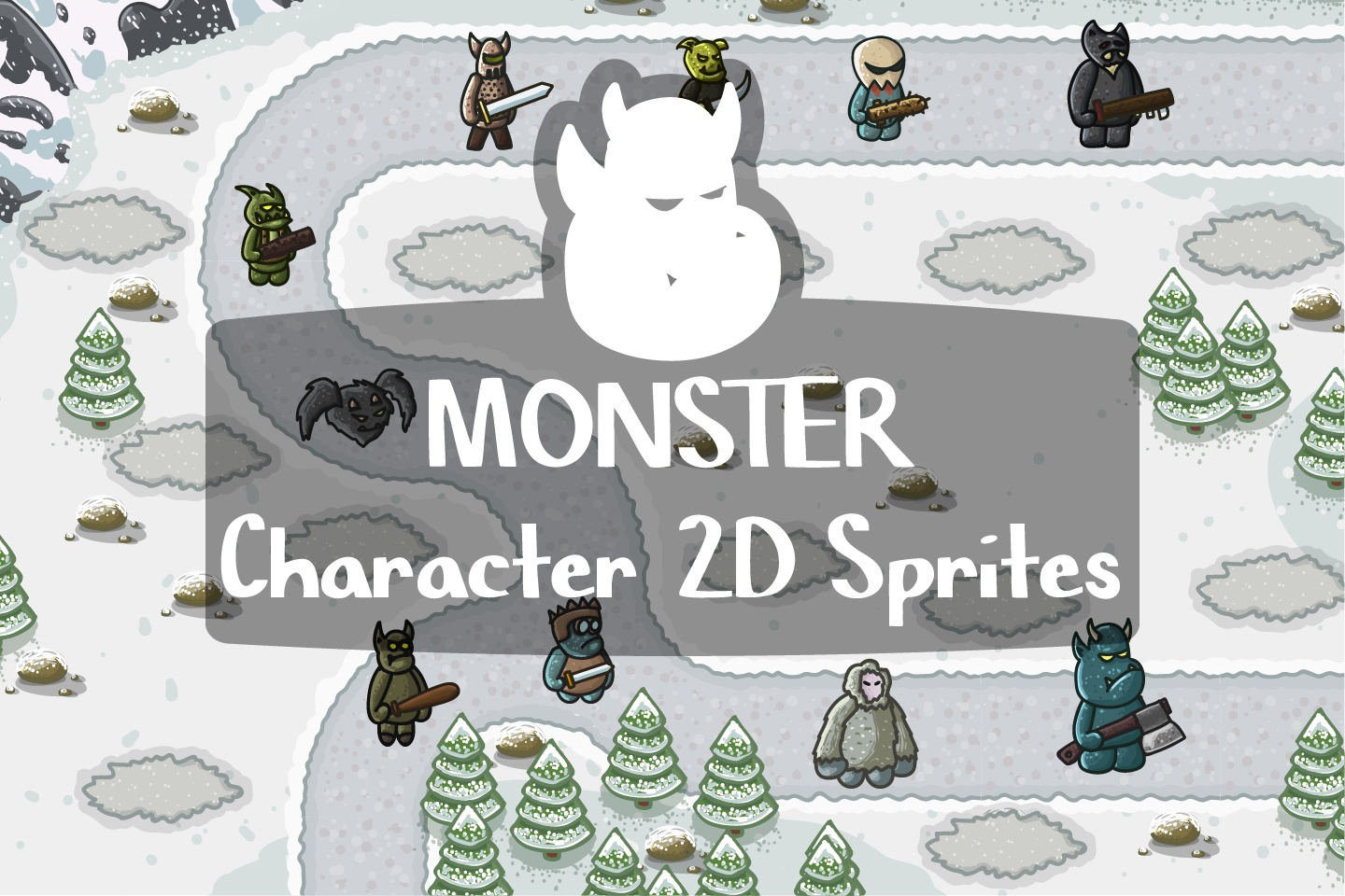 Monster Character 2D Sprites