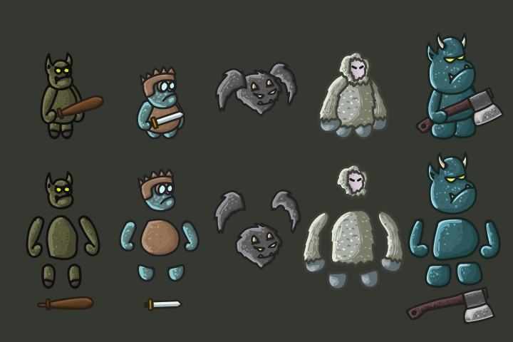 Monster-Character-2D-Sprites