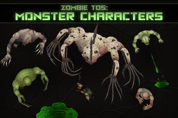 TDS Monster Character Sprites
