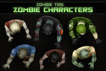 TDS: Zombie Character Sprites