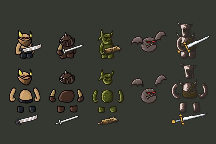 Tower-Defense-Monster-2D-Sprites