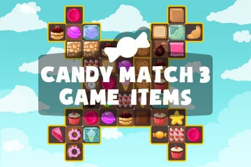 Free Candy Match 3 Game Items