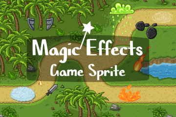 Magic Effects Game Sprite