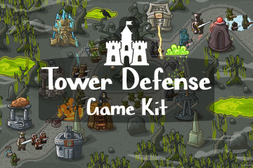 Tower Defense 2D Game Kit