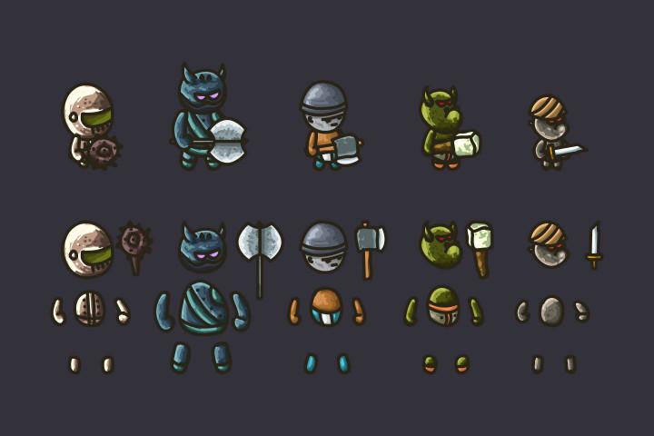 Tower-Defense-2D-Game-Kit-Monster
