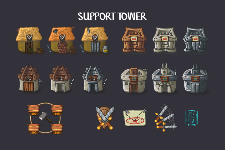 Tower-Defense-2D-Game-Kit