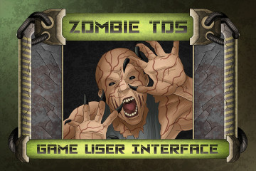 Zombie TDS Game User Interface