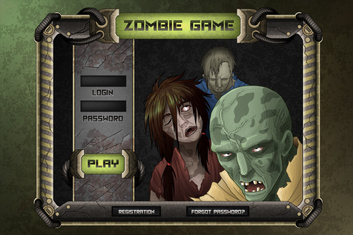 Zombie-TDS-Game-User-Interface