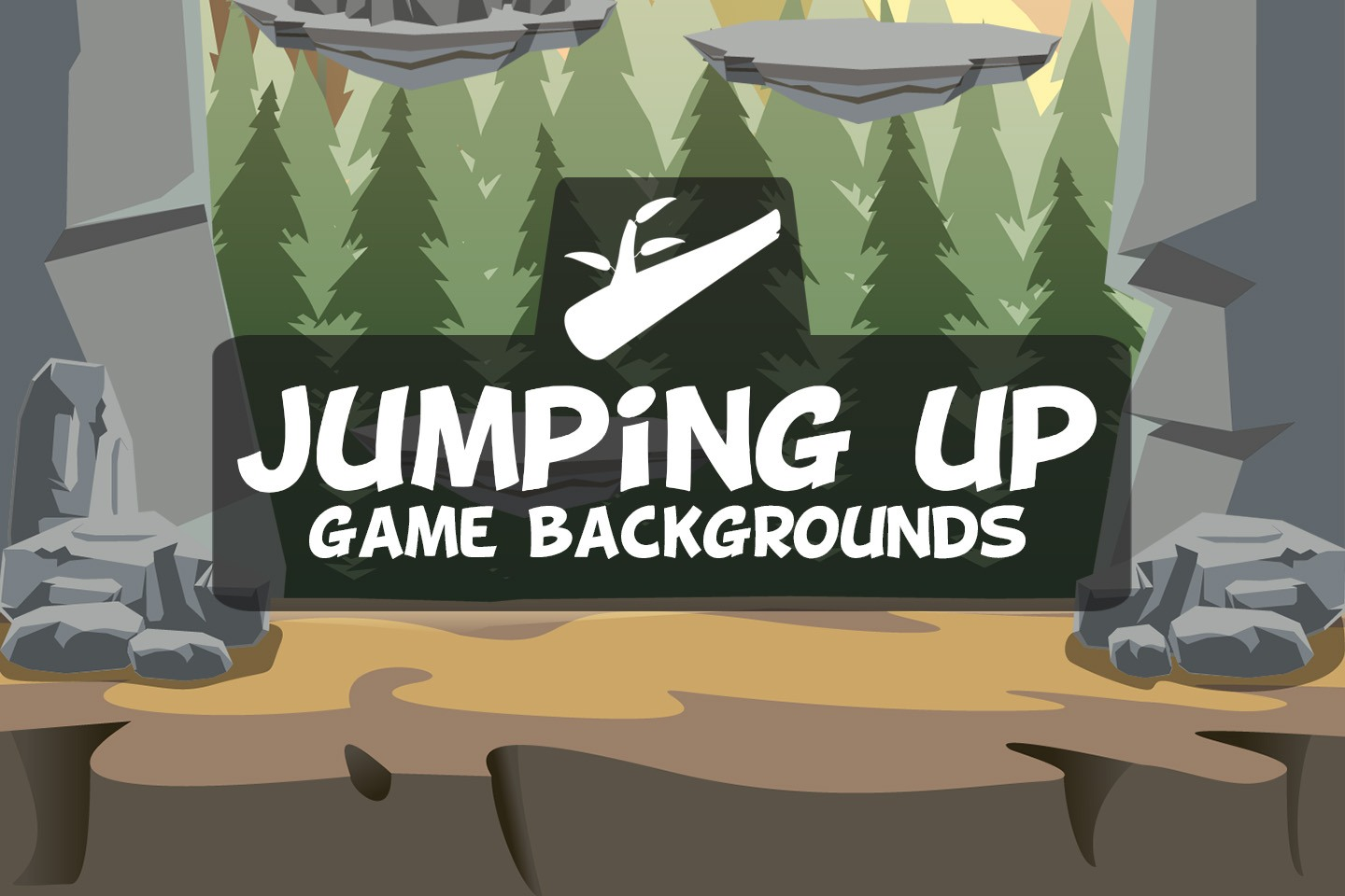 Jumping Up Game Backgrounds