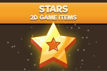 Stars 2D Game Items