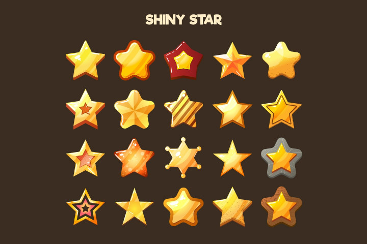 Stars-2D-Game-Items