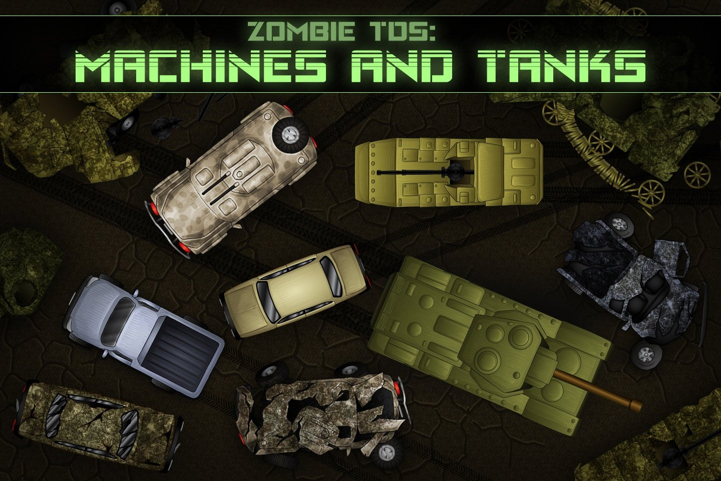 Zombie TDS Machines and Tanks