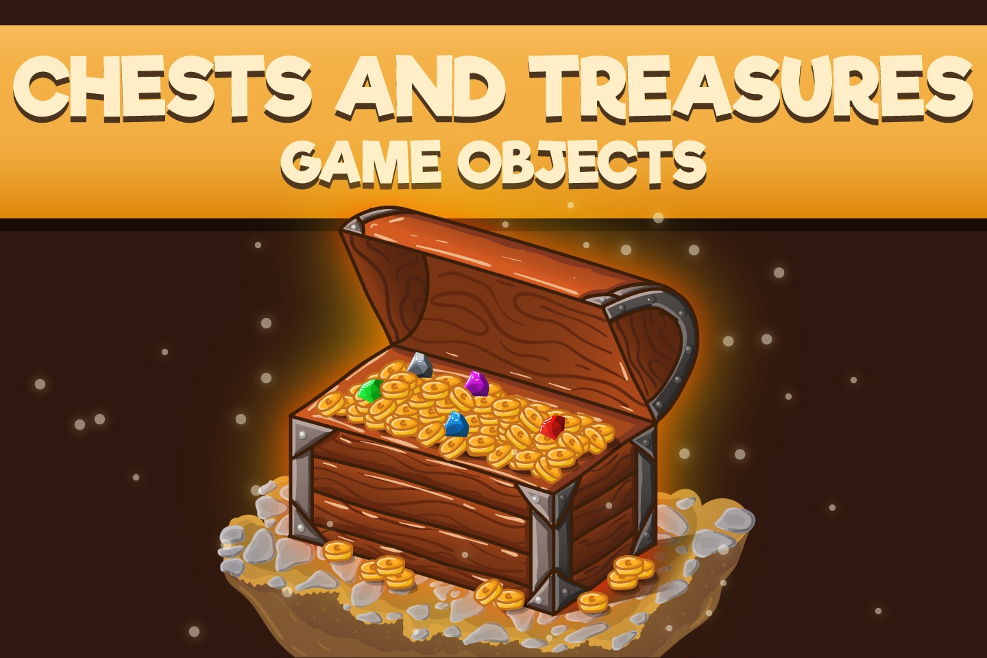Chests and Treasures 2D Game Objects