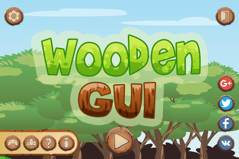 Wooden GUI