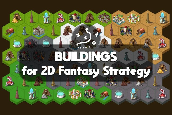 Buildings-for-2D-Fantasy-Strategy
