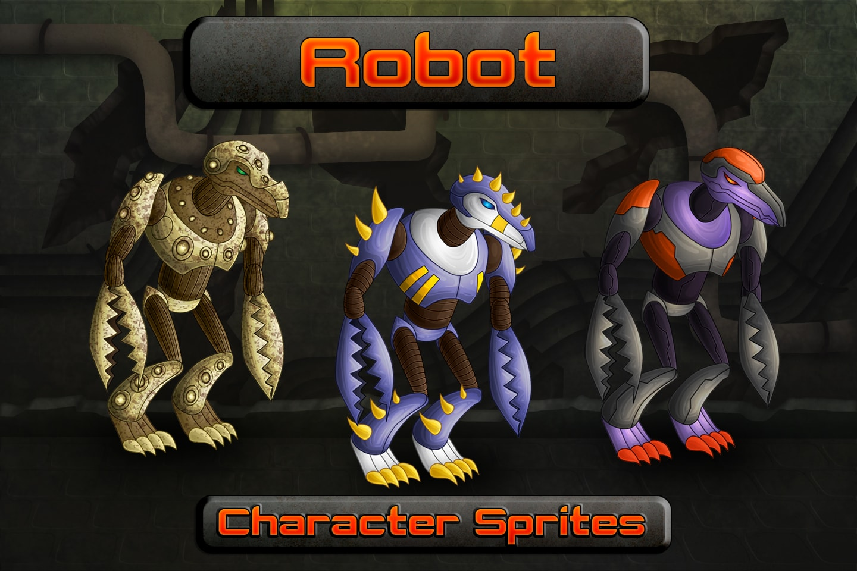 Free Robot Sprite