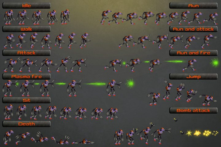 Free-Robot-Sprite