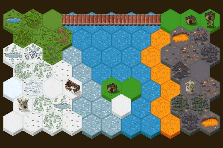 Tactical-Strategy-2D-Game-Tile-set