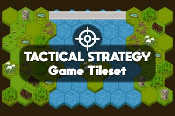 Tactical Strategy Game Tileset