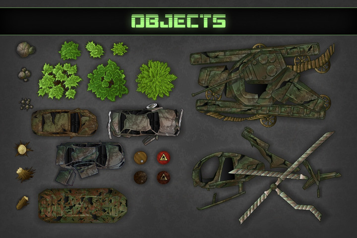 Zombie-TDS-2D-Game-Kit