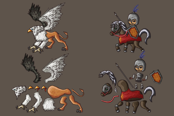2D-Fantasy-People-Warrior-Character-Sprites