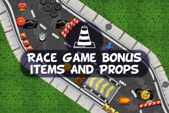 Race-Game-Bonus-Items-and-Props
