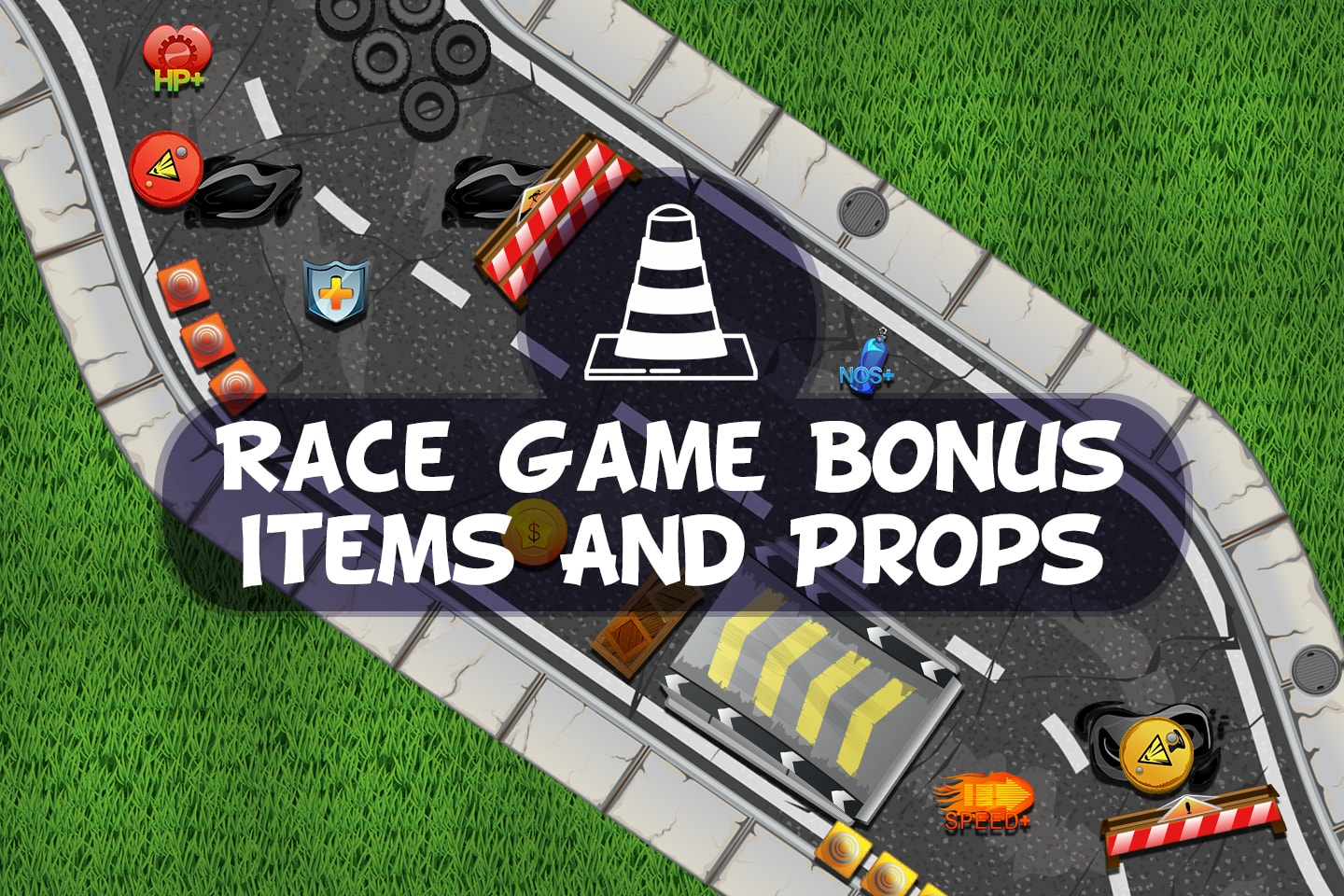Race Game Bonus Items and Props