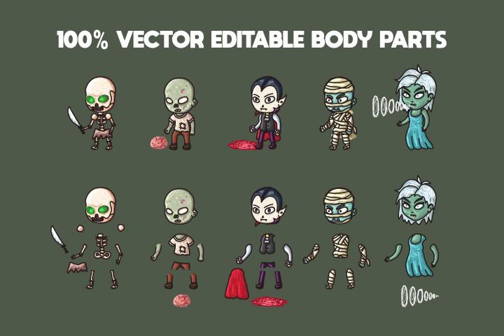 2D-Fantasy-Undead-Warrior-Character-Sprites