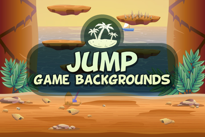 Jumping-Game-Backgrounds