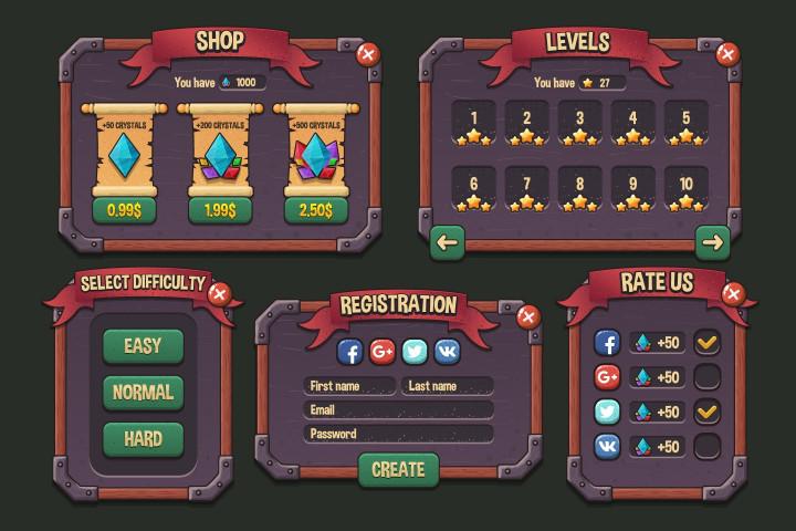 Fantasy-Strategy-Game-UI