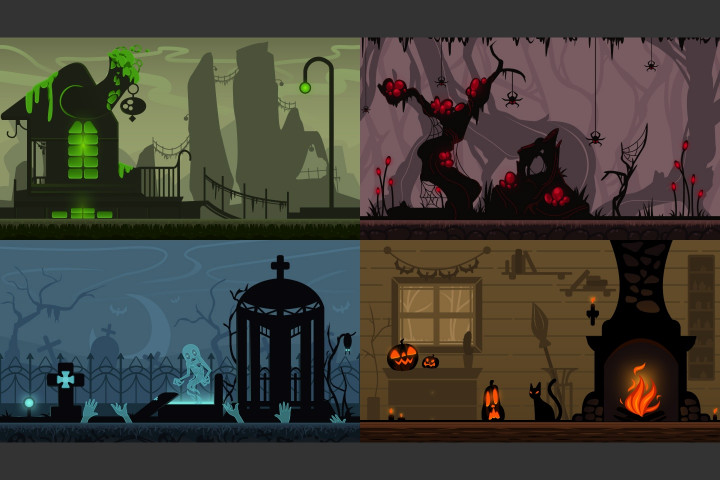 Free-Halloween-2D-Game-Backgrounds