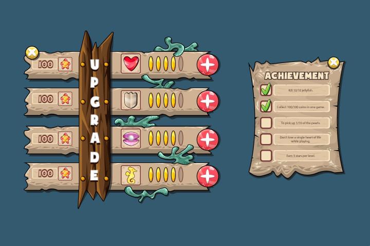 Underwater-World-Game-UI