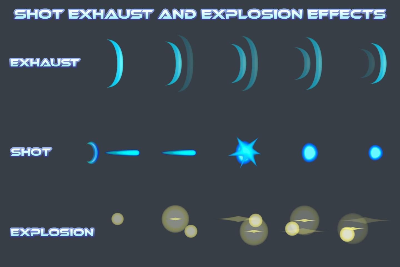 Enemy SpaceShip Game Sprites - CraftPix.net
