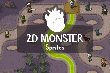 Free 2D Monster Sprites