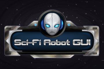 SCI-FI Robot GUI