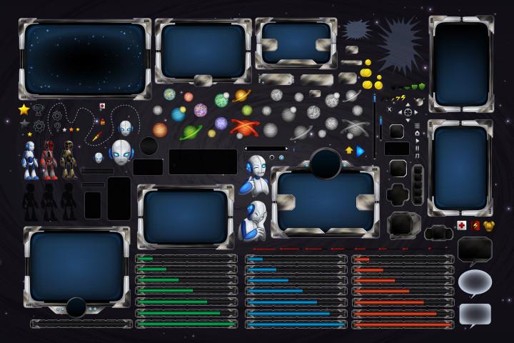SCI-FI-Robot-GUI