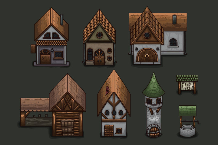 2D-RPG-Summer-Tileset